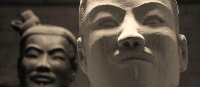 Terra-cotta soldiers in Xi'an (replica)