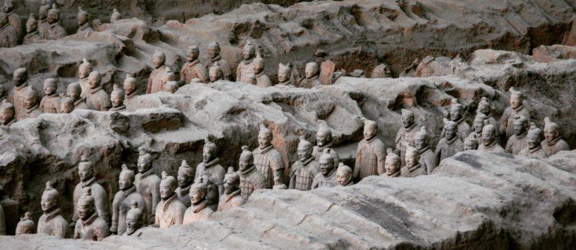 中国陕西西安兵马俑